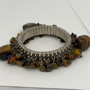 Vintage tiger eye stretch bracelet